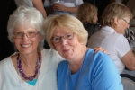 Nancy and Janice at the 55th reunion