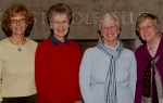 Every January since 1960 (left to right) Janice Smith Stegeman, Diane Peterson Schultz, Betty Jean Benum Marvin, and Jud